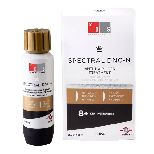 Spectral.DNC-N - mit 5 Prozent Nanoxidil gegen Haarausfall I Mittel gegen dünne Haare I Effektives Spray gegen Haarverlust I Für Frauen und Männer geeignet -