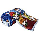 Dohar (shopit Doraemon Cartoon Prints Polycotton Single Bed Reversible AC Dohar/Blnaket/Quilt Best Gift For Kids)