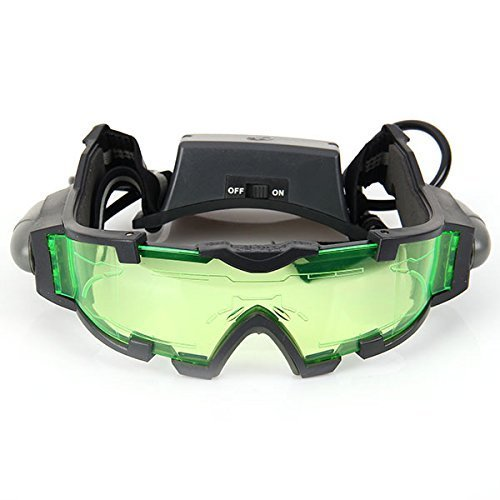 DMZK Gafas de visión Nocturna con Azul LED