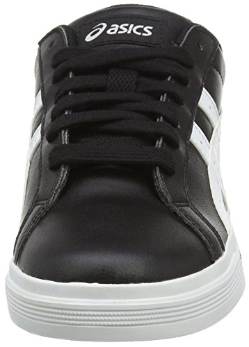 Asics Unisex-Erwachsene Classic Tempo Sneakers Schwarz (Black/White)