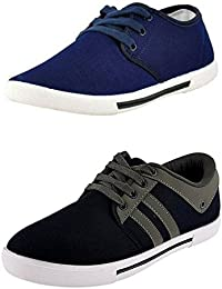 Hotstyle Men's COMBO Canvas Casual Sneakers