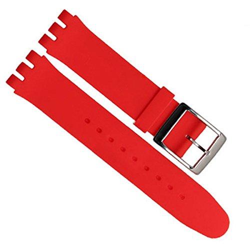 greenolive-19-mm-impermeabile-in-silicone-orologio-cinturino-in-gomma-di-ricambio-rosso
