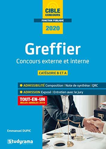 Greffier : Concours externe et interne par Emmanuel Dupic