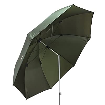 Ultra Fishing Angling 2.15m Umbrella without Zip Sides Windows Brolly by Ultra