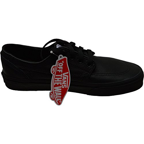 Vans BRIGATA Classics Italian Leather Black Black italian leather black black