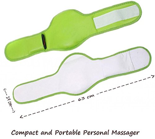 Zurato Foot Massager Machine for Pain Relief Professional Leg Massager Blood Circulation Machine/Leg, Foot and Hand Massager Belt - Green