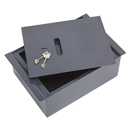 Sealey SKFS01 - Caja fuerte tamaño: 260x400x140mm