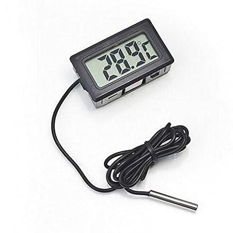 Cheap4uk Digital LCD Display Temperature Thermometer Monitor for Refrigerator Fridge Freezer Aquarium