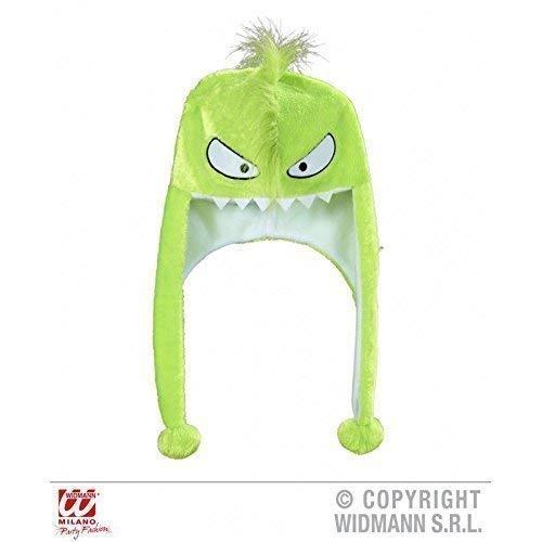 Lively Moments Tiermütze freches grünes Monster mit Langen Bommeln