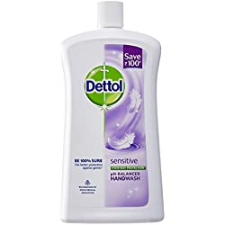 Dettol Liquid Soap Jar Sensitive 900 ml