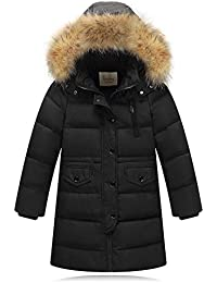CCZZ Abrigo de Invierno para Niños,Chaqueta de Plumón Impermeable Chaqueta de Invierno para Niño