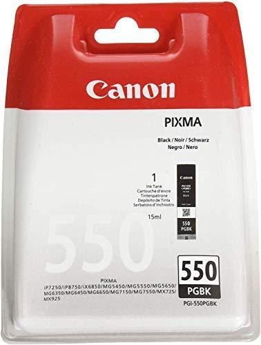 CANON PGI-550PGBK BL Tinte Pigment schwarz Standardkapazität 1-pack blister mit Alarm