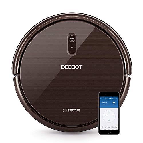 Ecovacs Deebot N79S - Robot Aspirador navegación aleatoria, control por App y Alexa, Wifi, 4 modos...
