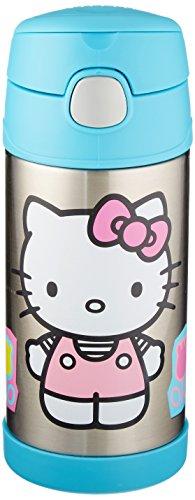 thermos-trinkflasche-funtainer-mit-strohhalm-355-ml-hello-kitty