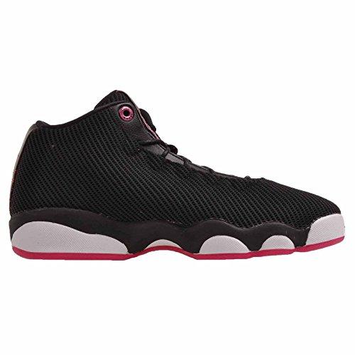 Nike Jordan Horizon Low Gg, espadrilles de basket-ball femme Noir (Noir / Vivid Rose-Blanc)