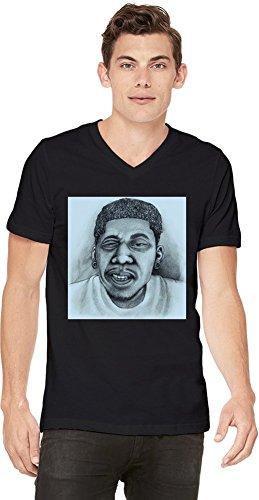 Hodgy Beats Mellow High Drawing Mens V-neck T-shirt X-Large