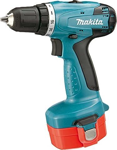 Makita 6281DWAE Akku-Bohrschrauber 14,4 V, 2 Akkus und