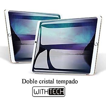 Tablet 10 Android WITHTECH Pad-3G , Doble Cristal , Octa Core, 4 GB de RAM 32GB ROM , 3G+teléfono, Android 7 GPS , Cristal Templado de Regalo (Negro)