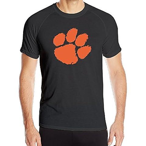 T&Tat Men's Clemson Tigers Quick Dry Athletic