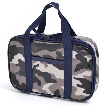Kids sewing bag rated on style N2303400 made by Japan-gray camouflage (bag only) (japan import)