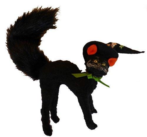 Annalee Halloween Figur 10,2cm Angst Katze Hexe Kitty (200507) (Dolls Halloween Annalee)