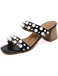 Pendenza sandali diamante femmina comodi sandali, 38 EU, bianco latte