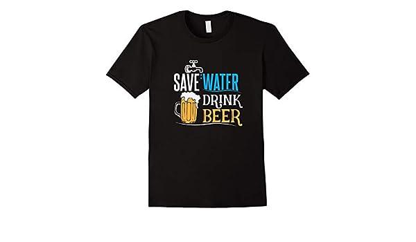 Jinquan Lu Save Water Drink Beer For Mens T-Shirt