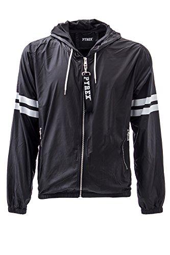 pyrex-giacchetto-con-cappuccio-uomo-33320-l-nero