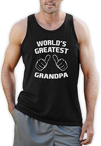 Der größte Großvater der Welt Tank Top Schwarz