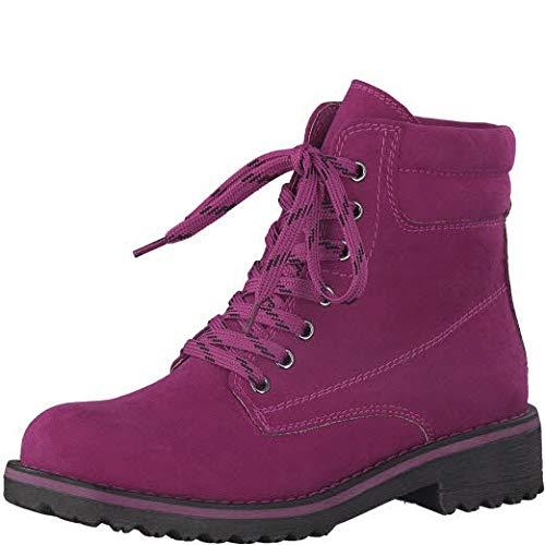 MARCO TOZZI Damen 26231-21 Combat Boots, Pink (Fuxia 589), 37 EU