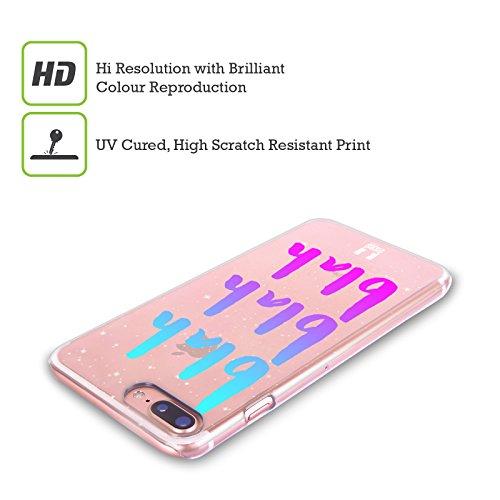 Head Case Designs Blah Slang Da Giovani Cover Retro Rigida per Apple iPhone X Blah