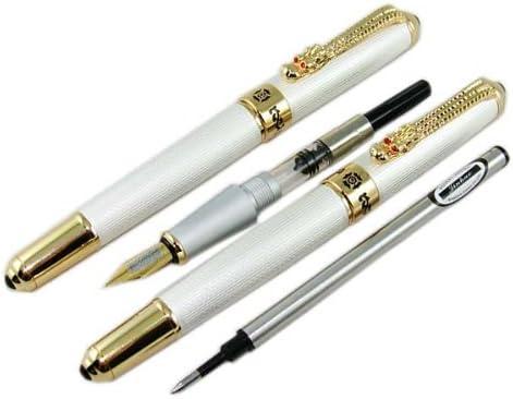 Inhao 1200 argento argento argento Line Dragon clip penna stilografica penna roller set confezione regalo originale | Elevata Sicurezza  | Export  | a prezzi accessibili  4e4151