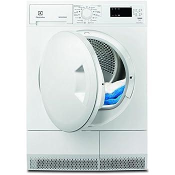 Electrolux EDH3685PZW Autonome Charge avant 8kg A+ Blanc sèche-linge - Sèche-linge (Autonome, Charge avant, Pompe à chaleur, Blanc, Rotatif, Gauche)