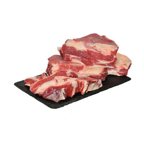 Chiemgauer Naturfleisch Bio Rinder-Suppenfleisch ohne Knochen 1,2 kg ca. 400 gr Packung (6 x 1200...