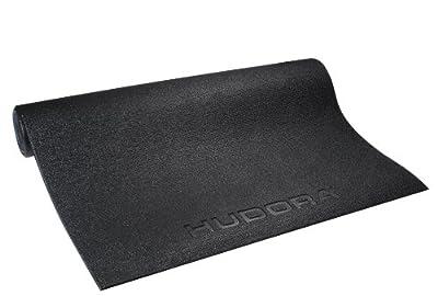 HUDORA Bodenschutzmatte fÃ1/4r Fitnessgeräte, schwarz, 76544