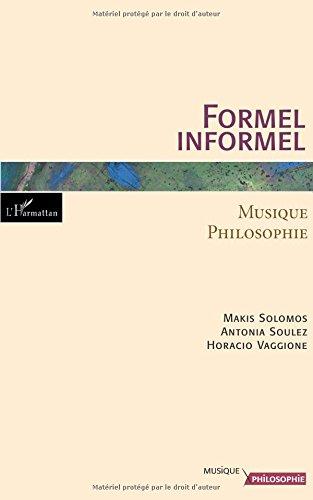 Formel/Informel : musique-philosophie