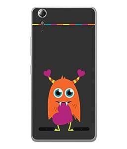 PrintVisa Owl In The Athens High Gloss Designer Back Case Cover for Lenovo A6000 :: Lenovo A6000 Plus :: Lenovo A6000+