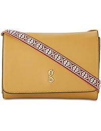 global desi Women's Sling Bag (Ochre Yellow)