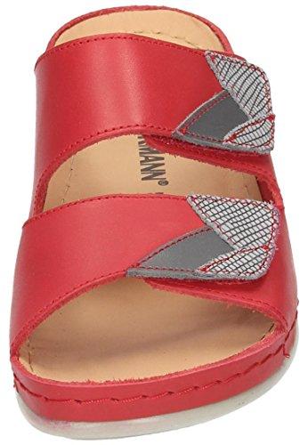 Dr. Brinkmann 701044, Mules Femme Rouge