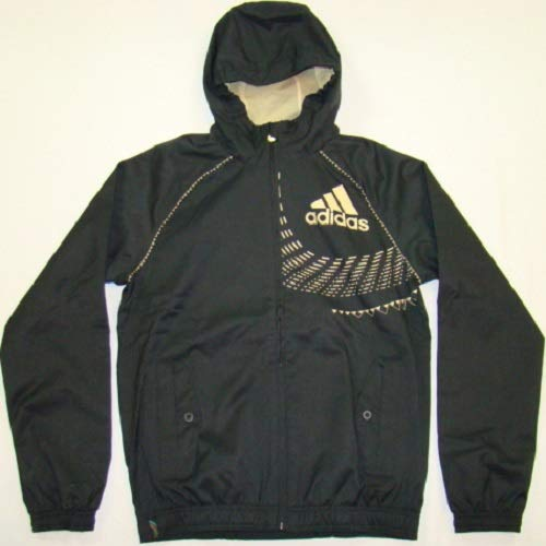 2010-jacke (Adidas Originals Visual Fifa World Cup South Africa 2010 Jacke schwarz/gold, Größe:S)