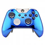 Chrome Bleu Manette Xbox One Elite Un-modded Custom Design Unique