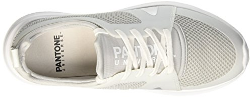 Pantone Kilimanjaro, Low-Top Chaussures mixte adulte Jaune (Silver 14-5002 Tpx_2)