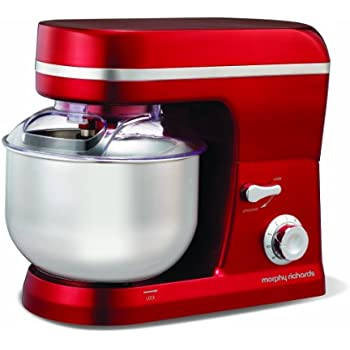 Morphy Richards Accents 400003 Stand Mixer - Red