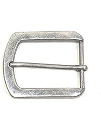 Gürtelschnalle Vintage antik Buckle 40 mm Metall Dornschließe für Gürtel mit 4 cm Breite M 3