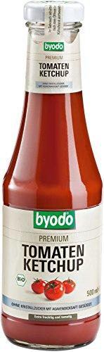 Byodo Bio Ketchup OHNE kristallzucker, 500 ml