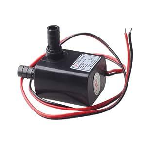 KEEDOX® DC30A-1230 12V DC Pompe à eau sans poussière CPU Refroidissement Pour Voiture
