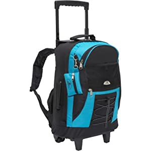 Everest Wheeled Backpack by Everest Luggage -Child Vendor Code