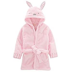 Niños Albornoz con capucha camisón, bebé toalla de baño pijamas Baño robe Animal ropa de dormir linda bata de baño 2