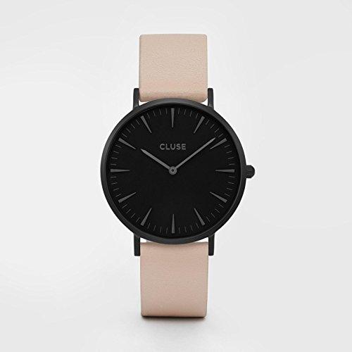 Cluse Damen-Armbanduhr Analog Quarz Leder CL18503