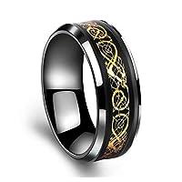 خاتم باند تيتانيوم للرجال